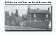 toll house on Chester Road, Brownhills
